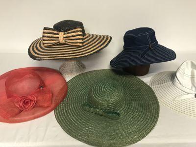 (5) Women's Hats