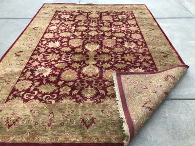Hand Knotted Wool Persian Area Rug 8' 5' X 11' 7'