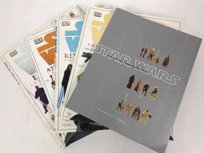 (4) STAR WARS Books Including The Action Figure Archive