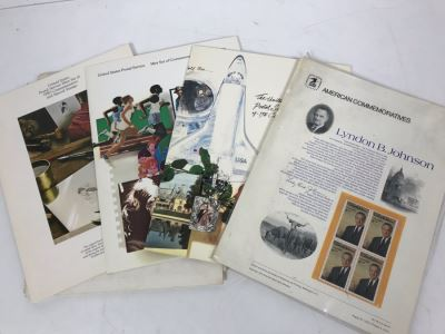 Collection Of Commemorative Stamps