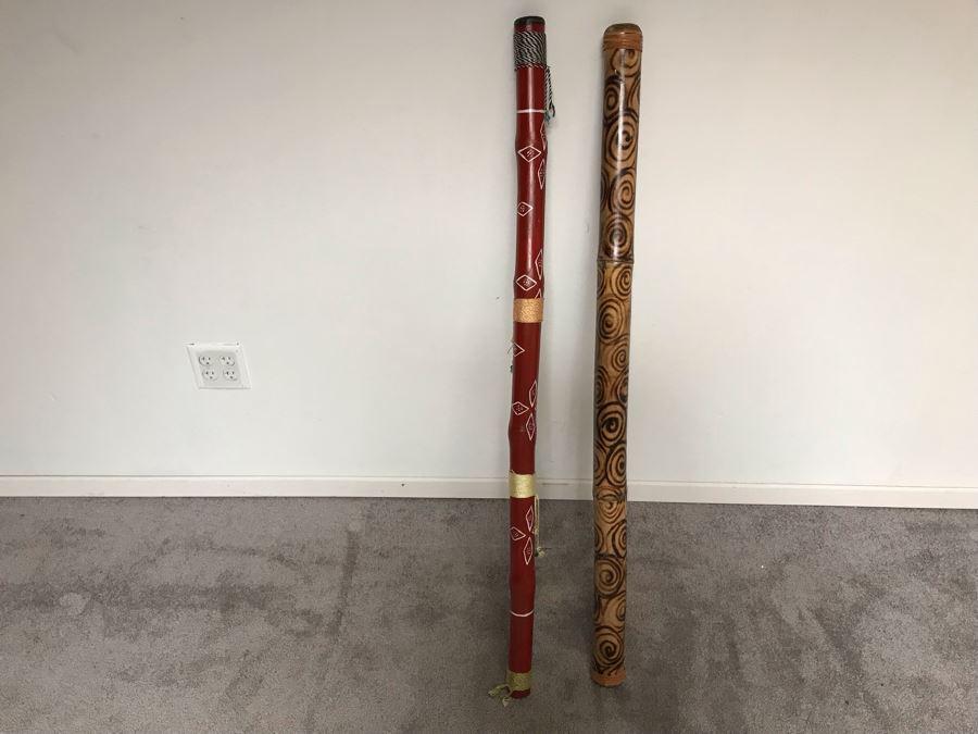 Pair Of Australian Didgeridoos [Photo 1]