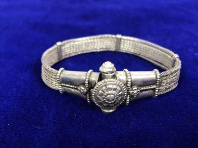 Vintage Silver Bracelet 25.4g Estimate $80