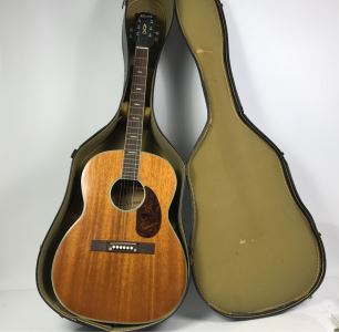 Kawai Acoustic Guitar Model No F611B Made In Japan With Case