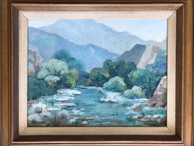 Original Plein Air Painting By D. Lindman 25.5' X 21.5'