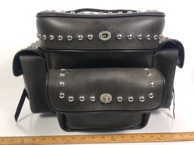 The Leatherworks Stockton, CA Leather Motorcycle Bag