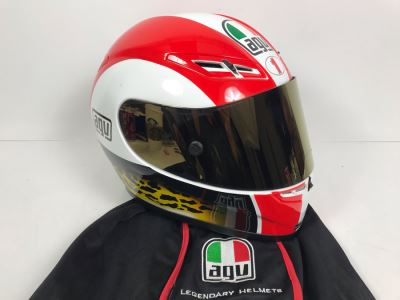 Agv Italian Motorcycle Helmet Drudi Performance Size M E2205 Never Worn Estimate $550