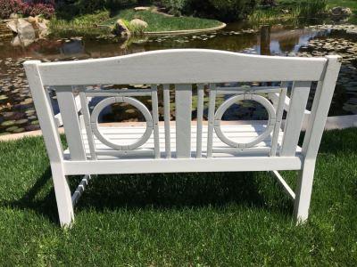 White Wooden Bench #2
