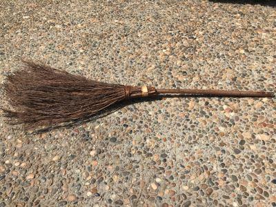 Stick Twig Broom 55'L