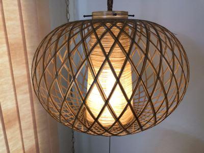 Mid-Century Modern Hanging Pendant Light Fixture