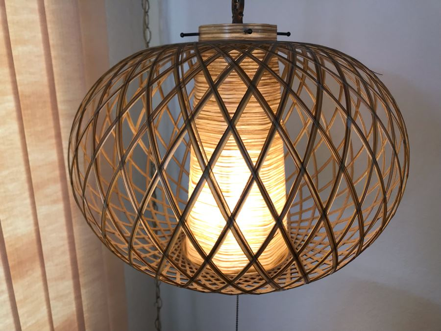 Mid-Century Modern Hanging Pendant Light Fixture [Photo 1]