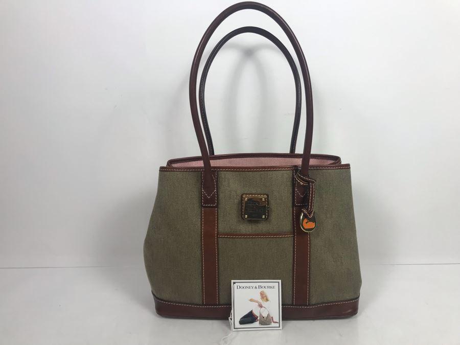 Dooney & Bourke Mushroom Handbag With Original Tags Retailed For $265 [Photo 1]