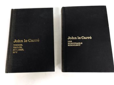 1974 Tinker, Tailor, Soldier, Spy By John Le Carre Hardcover Book Second Printing Before Publication (Second Printing) And The Honourable Schoolboy 1977 First Trade Edition