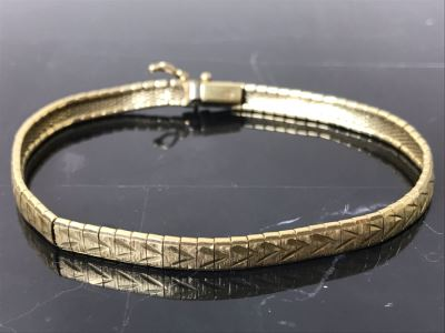 14K Gold Ladies Bracelet 13g $310MW