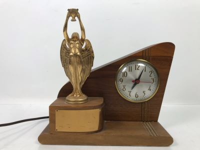 Vintage Art Deco Sessions Trophy Clock Uninscribed