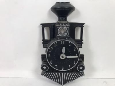 Mastercrafters Train Wall Clock