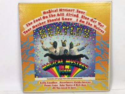 The Beatles Magical Mystery Tour Gatefold With Cherry 24-Page Color Picture Book SMAL-2835