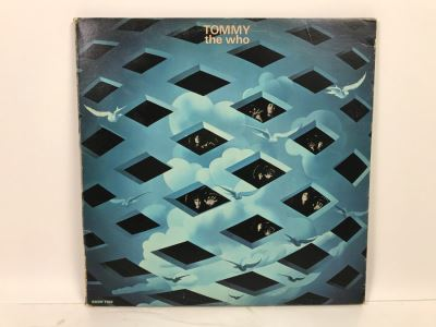 The Who TOMMY Vinyl Record With Insert