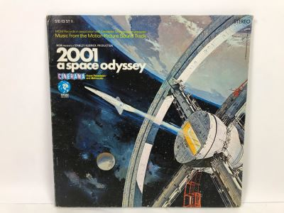Stanley Kubrick 2001 A Space Odyssey Vinyl Record