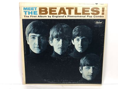 Meet The Beatles! The First Album Capitol Vinyl Record
