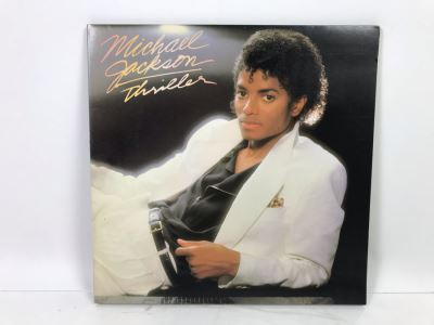 Michael Jackson Thriller Vinyl Record With Original Inner Sleeve Michael Jackson Artwork