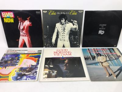 (6) Vinyl Records Lot