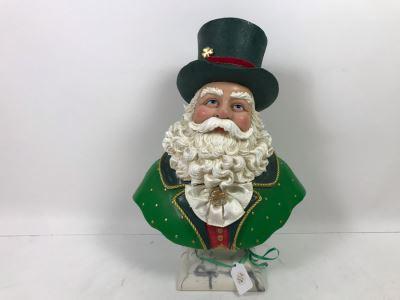 Irish Santa Bust Retails $135