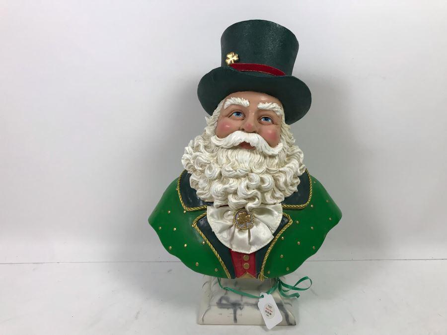 Irish Santa Bust Retails $135 [Photo 1]