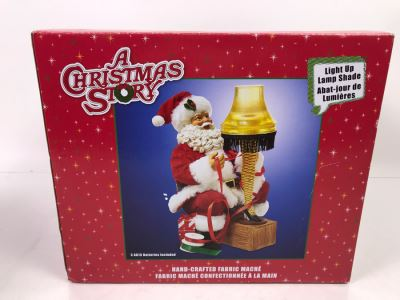 Warner Brothers A Christmas Story Leg Lamp