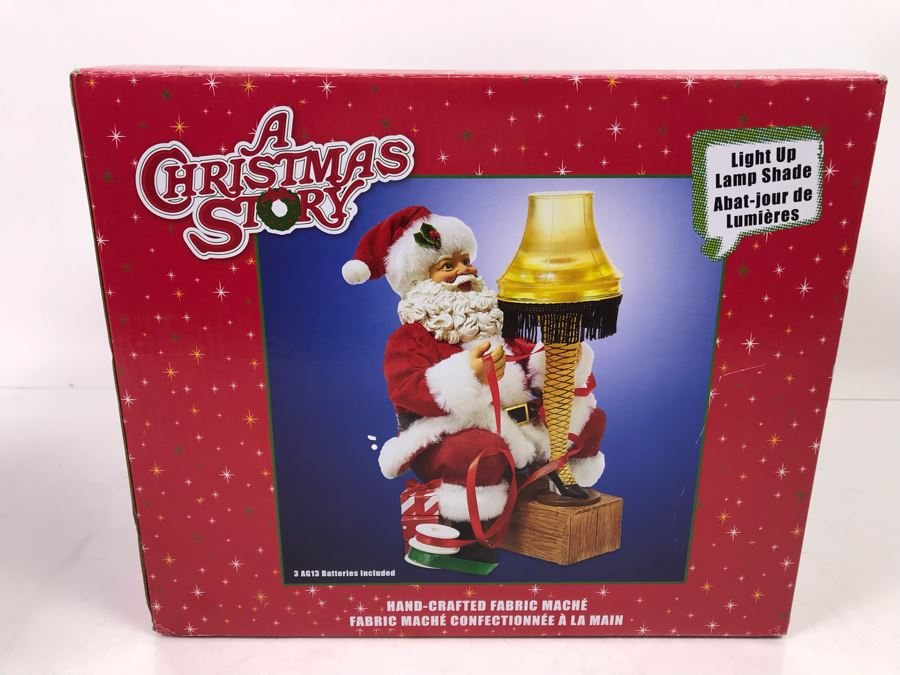 Warner Brothers A Christmas Story Leg Lamp [Photo 1]