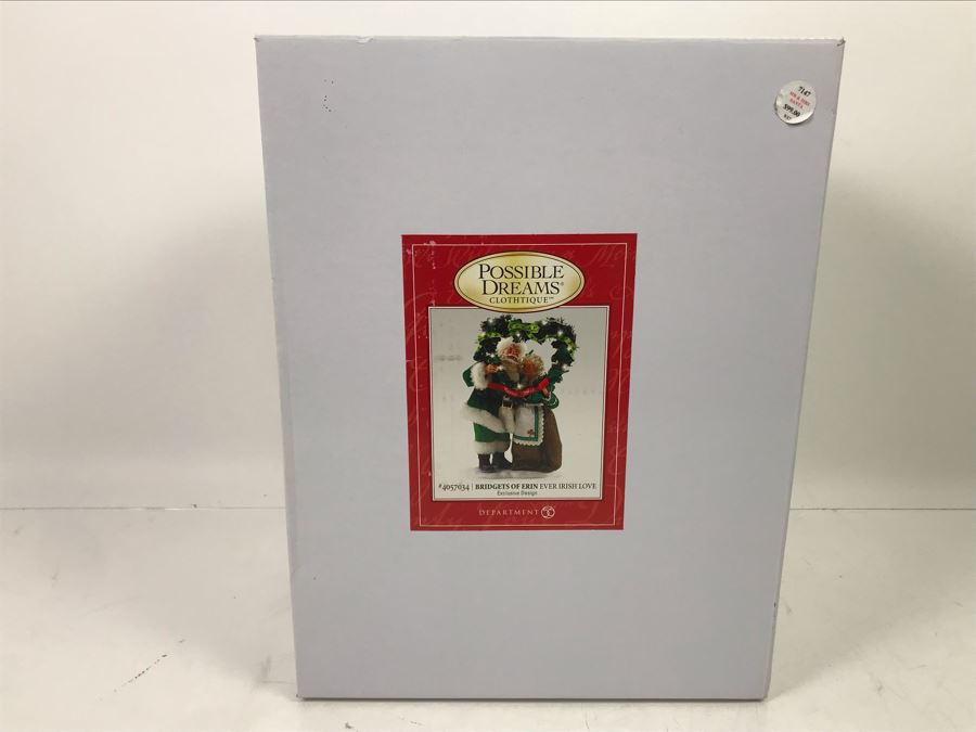New Department 56 Bridgets Of Erin Ever Irish Love 4057034 Mr. & Mrs. Santa Retails $99 [Photo 1]