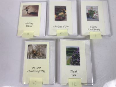 (48) New Irish Greeting Cards Retails $240
