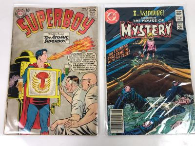 Vintage DC Comics Superboy #115 And I...Vampire Starring In The House Of Mystery #307
