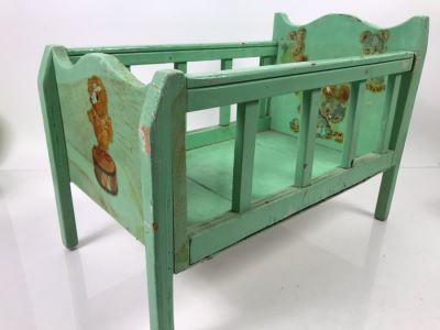 Vintage Baby Doll Crib