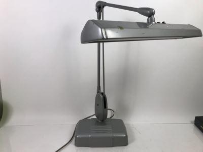 Vintage Art Deco Metal Floating Adjustable Desk Lamp Dazor Floating Light Fixture Model P-2324 By Dazor Mfg Corp St Louis, MO