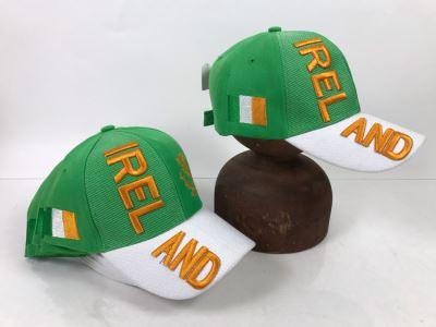 (7) Ireland Baseball Caps Hats Retails $196