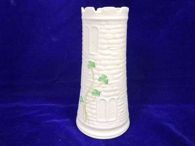 Just Added - Belleek Castle Vase Retails $65