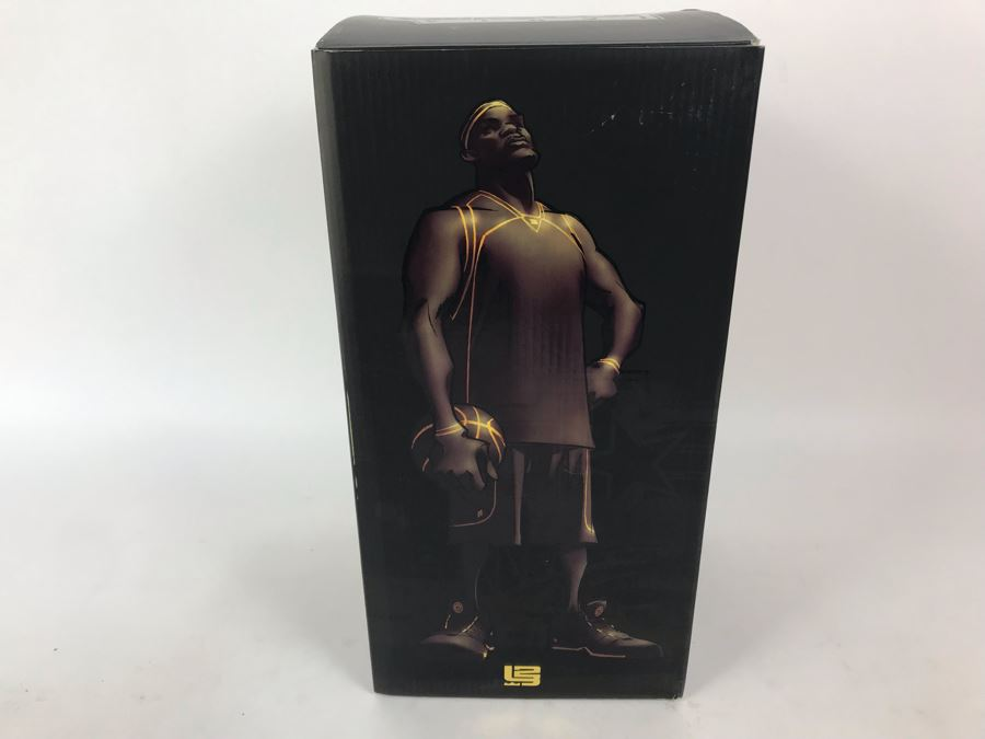 Very Rare Limited Edition Of 250 All Star Vinyl NBA Lebron James Sole Collector Edition 2006 Upper Deck Collectibles Nike [Photo 1]