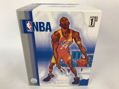 Rare Limited Edition Of 1,500 All Star Vinyl NBA Kobe Bryant Los Angeles Lakers Basketball 2007 Upper Deck Collectibles Collectible Vinyl Figure