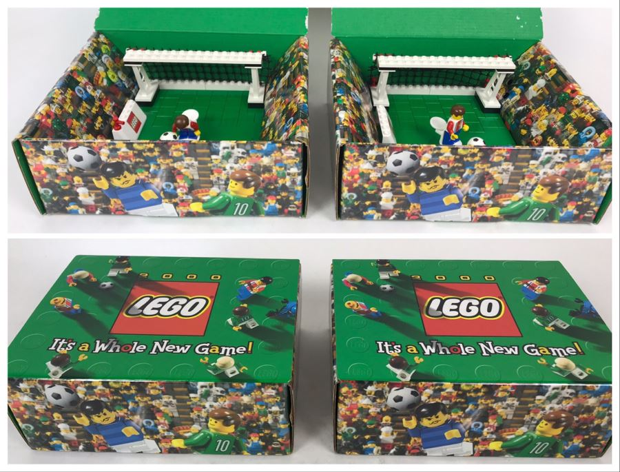 Pair Of Exclusive LEGO 2000 Soccer Samples [Photo 1]