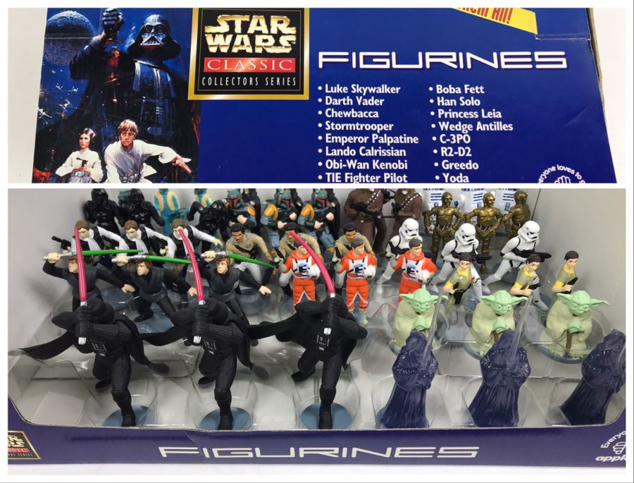 Vintage 1997 Star Wars Classic Collectors Series Action Figures By Applause - 48 Figures [Photo 1]
