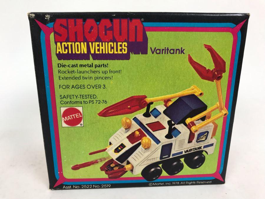 Vintage 1978 New In Box Mattel Shogun Warriors Action Vehicles Varitank Die-Cast Metal Parts 2519 [Photo 1]