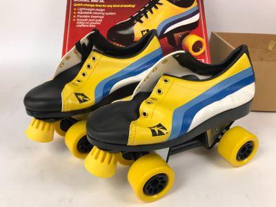 Vintage 1978 Mattel Sunrunners Roller Skates New In Box Size 8-10