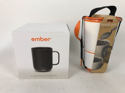 New Ember Temperature Control Ceramic Mug And New Lunch Pot