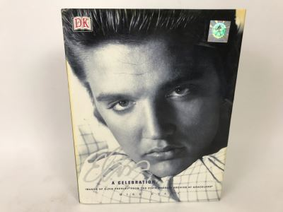 Collectible Elvis Coffee Table Book: Elvis A Celebration Retails $50
