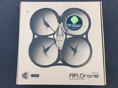 New Parrot AR Drone The Flying Video Game