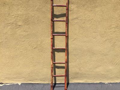 Vintage Bamboo Ladder 75'H