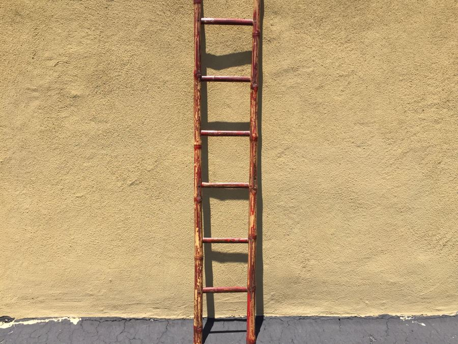 Vintage Bamboo Ladder 75'H [Photo 1]