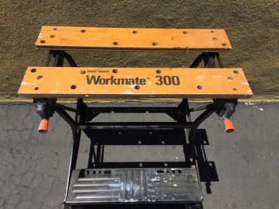 Black & Decker Workmate 300 Adjustable Work Bench