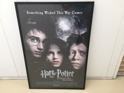 Vintage Harry Potter And The Prisoner Of Azkaban Movie Poster Framed
