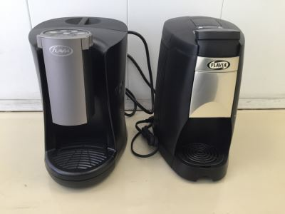 Pair Of Flavia Single Serve Coffee Makers Machines